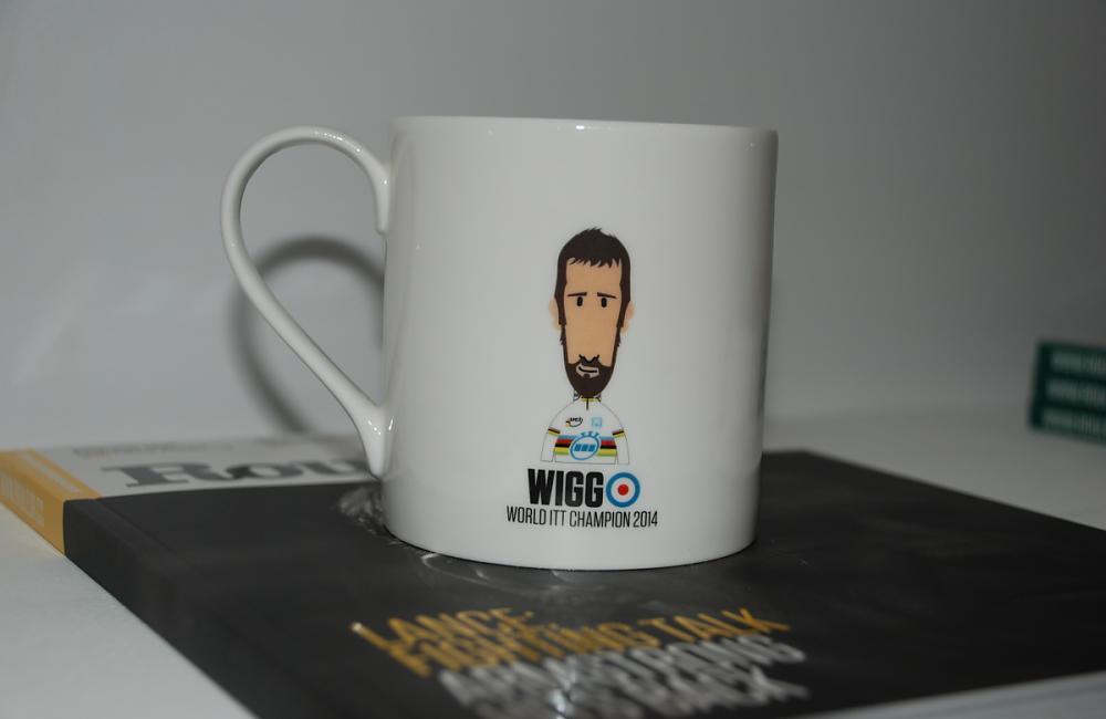 Wiggo mug at Rouleur