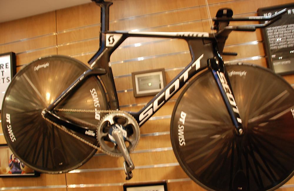 The hour-record bike