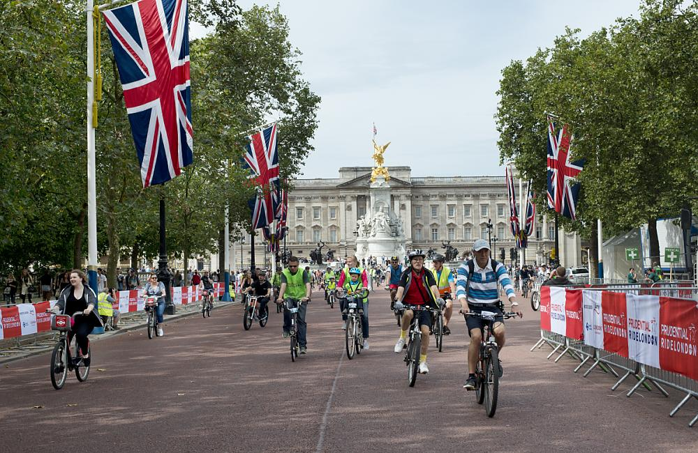 Ride London is packed with icon views