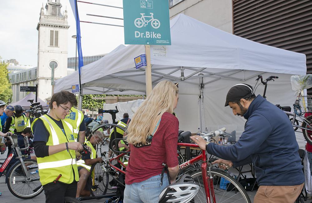 CTC's Dr Bike in full swing