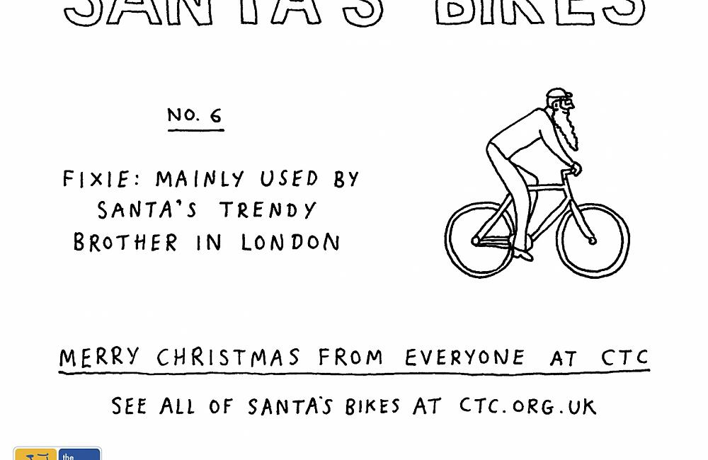 The Fixie for Santa's cool brother