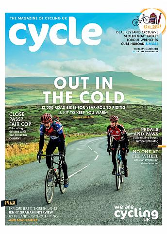 Cycle cover Feb/March 2019