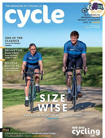 Cycle magazine June/July 2019 Cover