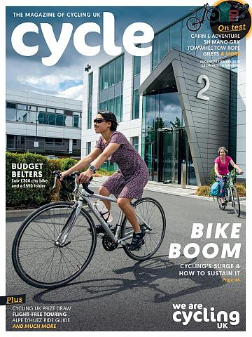 Cycle magazine August/September 2020 cover