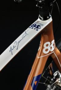Mark Beaumont's bike frame