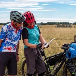Cycling treasure hunt